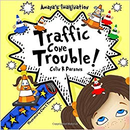 Amaya's Imagination - Traffic Cone Trouble.